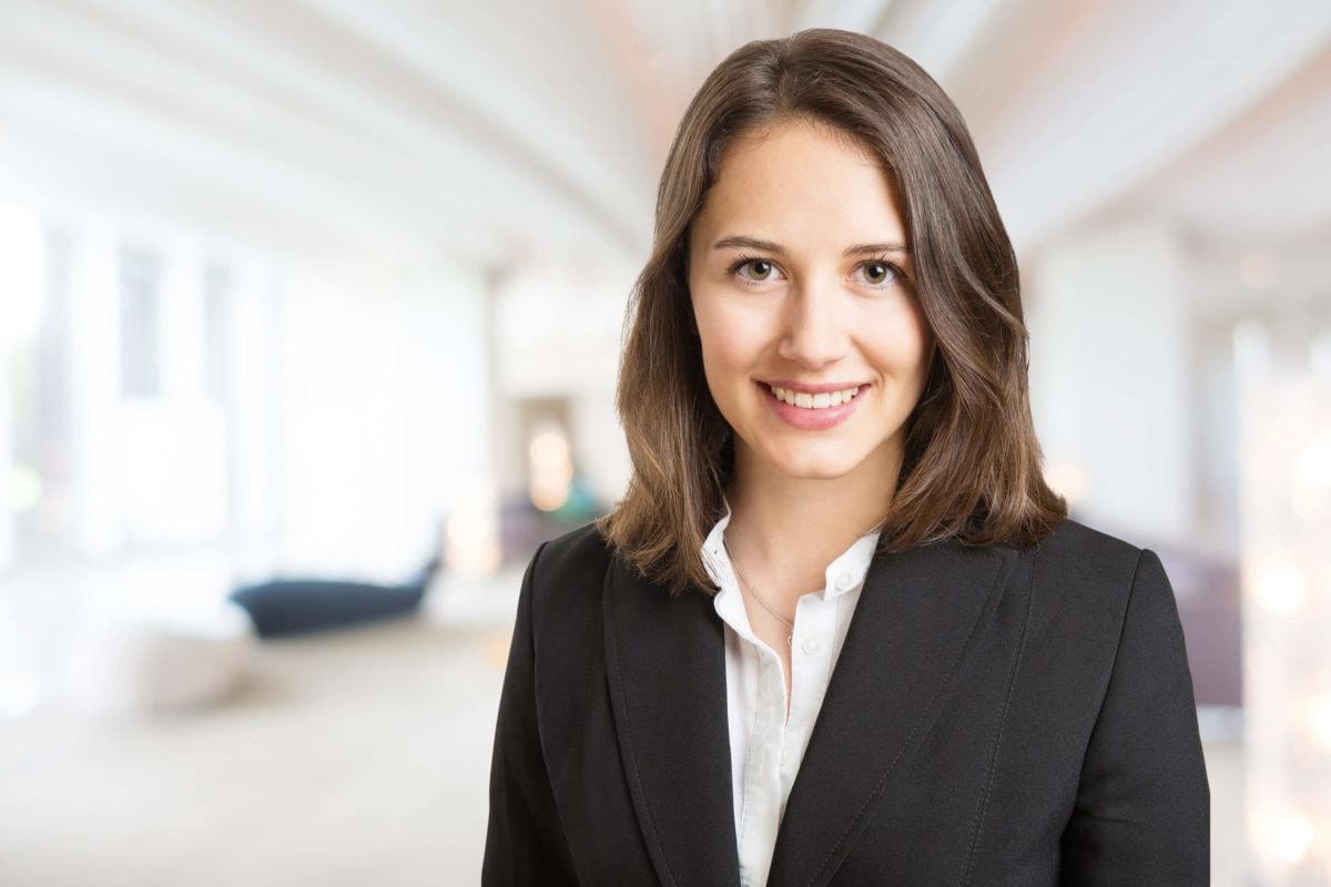 Beispiel Bewerbungsfoto junge Frau