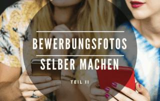 Bewerbungsfotos selber machen mit dem Smartphone