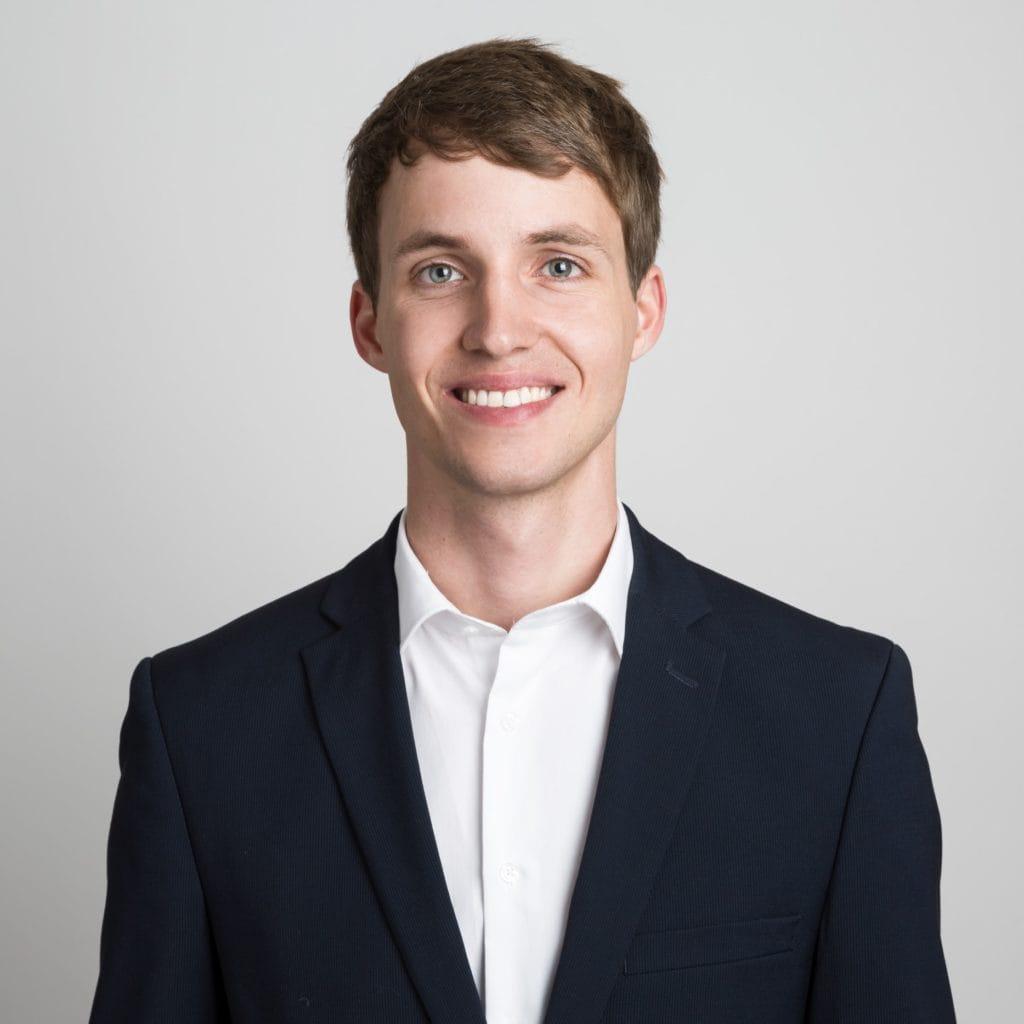 Beispiel Bewerbungsfoto junger Mann
