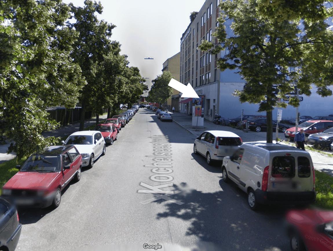 Wegbeschreibung München CV Pics Street View 2